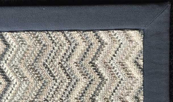 Taped carpet