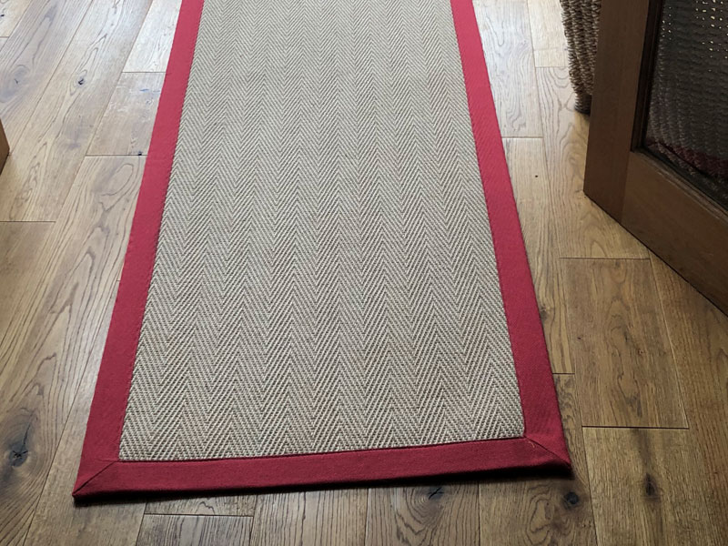 Sisal Hall Runner Herringbone