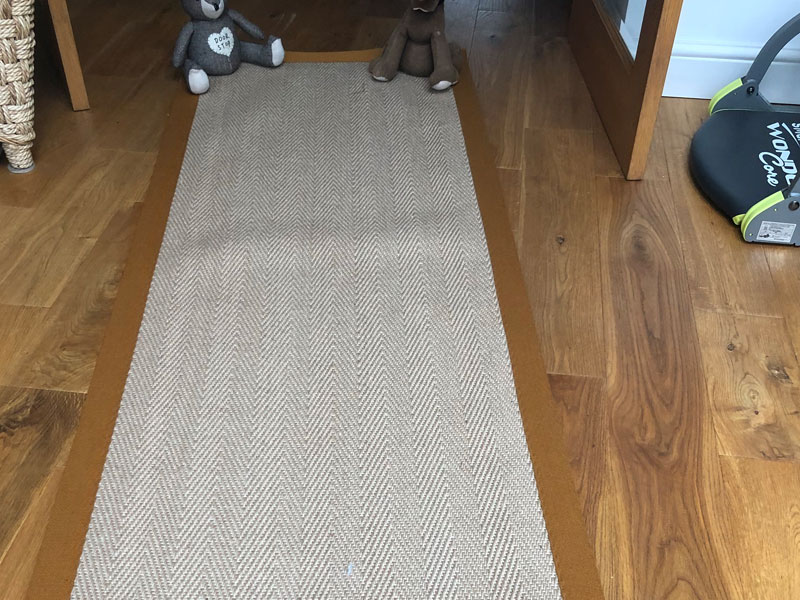 Herringbone Sisal Hall Runner